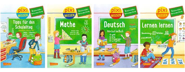 carlsen verlag pixi wissen 2014 tipps f r die schule lernen lernen mathe deutsch sebastian. Black Bedroom Furniture Sets. Home Design Ideas